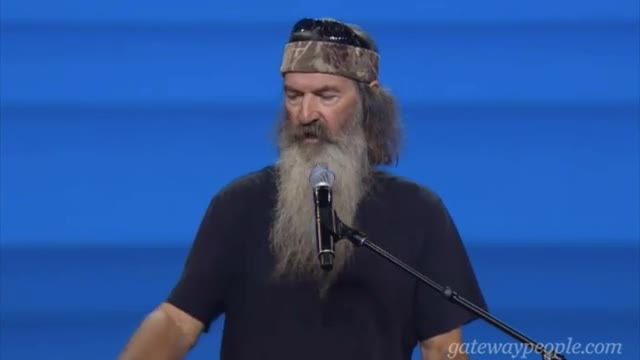 Phil Robertson: 'God's Not Like Our Government'