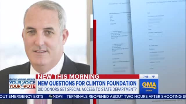 NBC Refuses to Cover Clinton Foundation Donor Seeking Special Seating at State Department Event