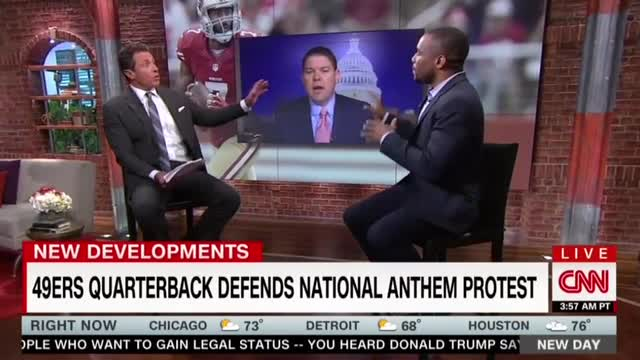 CNN's Marc Lamont Hill Defends 'Principled' QB Who Protested Anthem