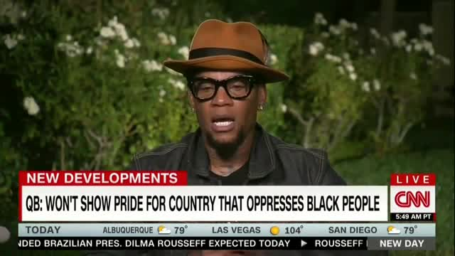 D.L. Hughley: Critics of NFL's Kaepernick Don't Slam 'Brutality' Against Blacks