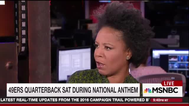 MSNBC Panelists Rule Kaepernick Critics Are White, 'Free Country' Doesn't Apply to Blacks