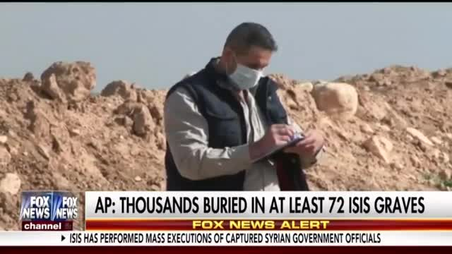 Networks Yawn at AP Scoop on Dozens of Mass Graves in ISIS Territory