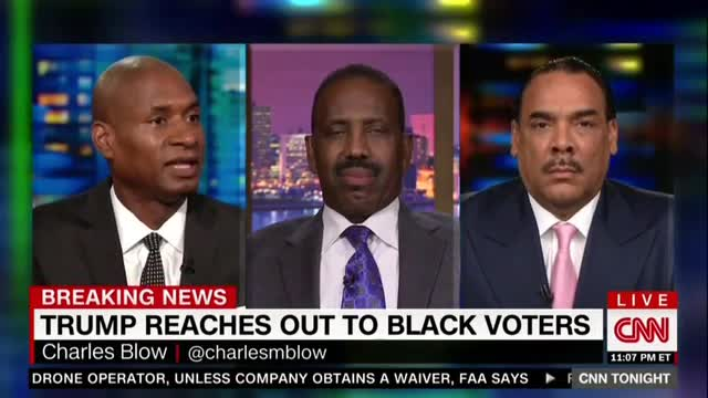 CNN's Charles Blow Claims Republican Party 'Actively Trying to Suppress' Blacks