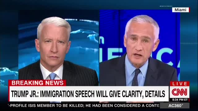 Ramos Promotes Anti-Trump Crusade on CNN, No Pushback from Cooper