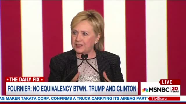 Ron Fournier: Forget All My Clinton Criticism, Hillary for President!