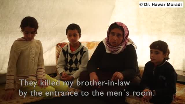 Yazidi Boy: 'We Could Smell The Stench From the Dead People, It Smelled Death'