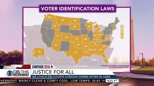 CBS's O'Donnell Helps Loretta Lynch Boost Liberal Anti-Voter ID Cause