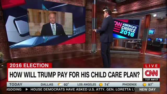 CNN's Cuomo Turns Discussion of Trump Daycare Plan into Gay Rights Debate