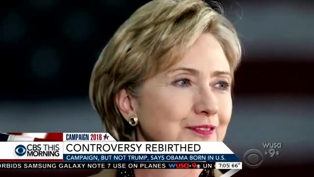 'False'? Media Deny Fact That Clinton Camp Pushed Birtherism in 2008