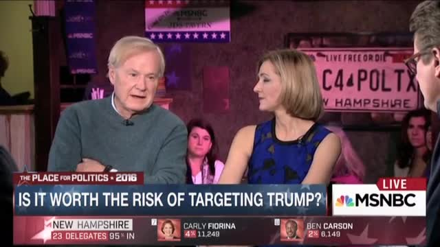 2016 DisHonors 'Damn Those Conservatives to Hell Award' Nominee: Chris Matthews