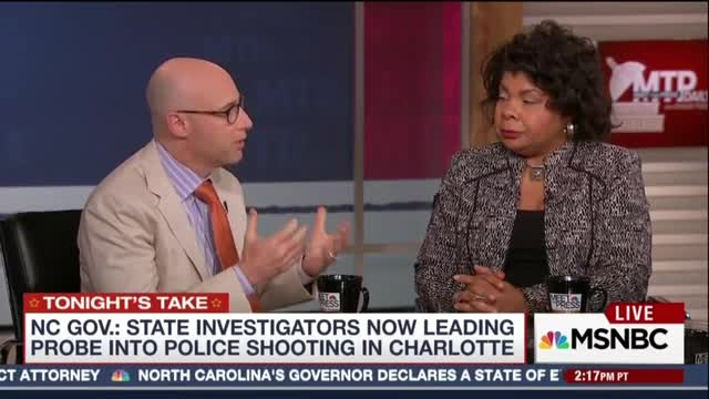 Chuck Todd Lets Guest Wrongly Claim 'Vast Majority' of Police Killings Are of Blacks