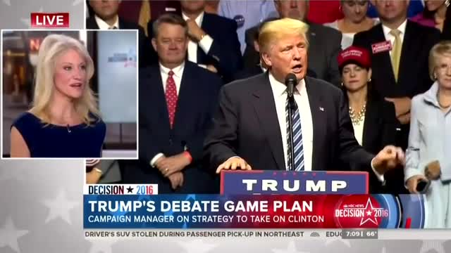 Trump Campaign Manager Calls Out Clinton Campaign for 'Gaming the Refs' Ahead of Debate