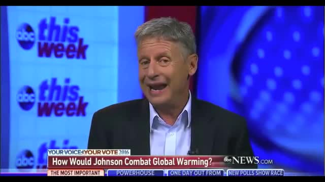 Libertarian Presidential Candidate Gary Johnson: 'We Do Have to Inhabit Other Planets'