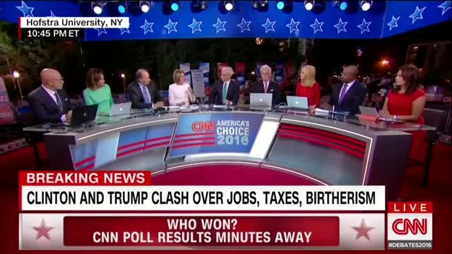 CNN Spends the First 30 Minutes After Debate Critiquing Trump's Performance