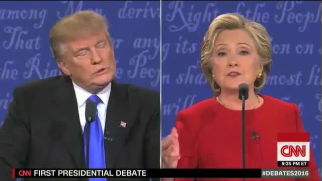 Trump: 'I Will Release My Tax Returns ... When She Releases Her 33,000 E-mails That Have Been Deleted'