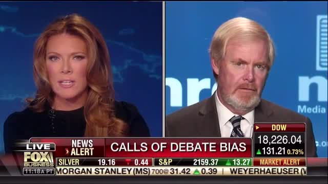 MRC's Brent Bozell Excoriates Lester Holt's 'Lopsided' Job as Debate Moderator for Hillary