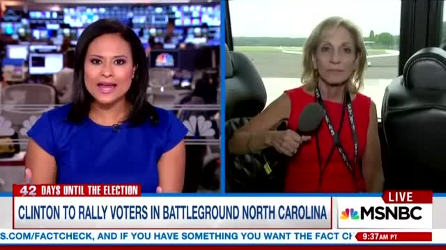 Andrea Mitchell: 'Very Confident' Hillary 'Feeling Her Oats' After Debate