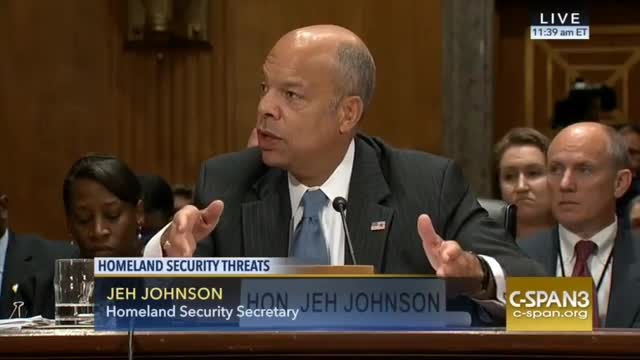 Jeh Johnson Doesn't Know How Many People Mistakenly Granted Citizenship Were From Iran, Syria, Libya