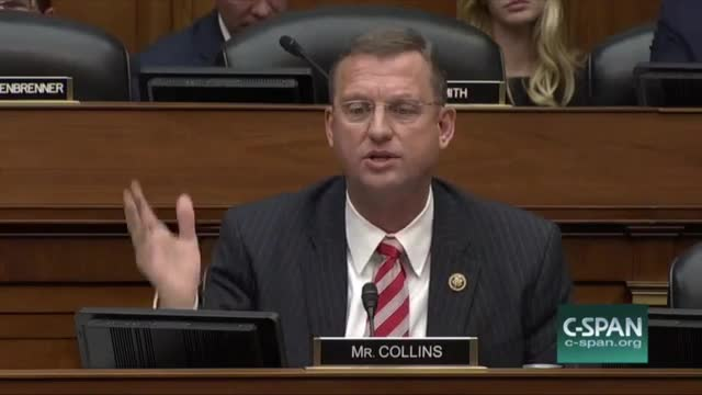 Rep. Collins, FBI Dir. Comey on Clinton Investigation