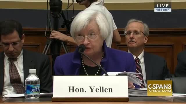 Fed Chair: 'Economic Growth Has Been Very Slow'; Productivity Growth 'Very, Very Low'