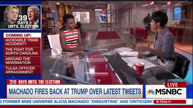 MSNBC's Hall: Discussion of Miss Universe Is 'Substantive' Campaign Story