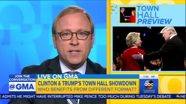ABC: 'A Terrible Decision' For Trump to Go After Clinton at Next Debate