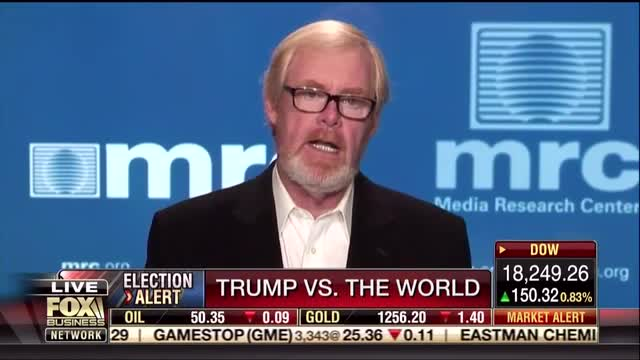 MRC's Brent Bozell: Media are Twisting, Distorting and Lying About Information