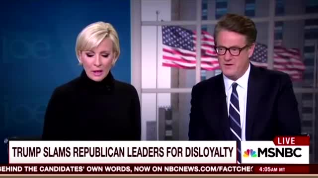 Scarborough: Media Blinded by 'Sheer Hatred' of Trump