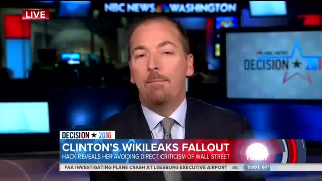 Todd: Leaked Hillary Speeches Will 'Reassure' Voters 'She's in the Middle'