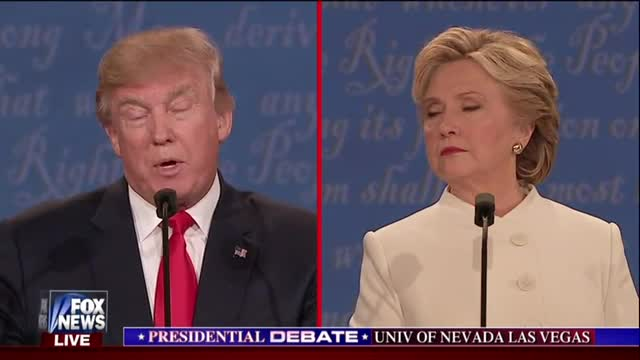 Trump Talks Abortion at Debate