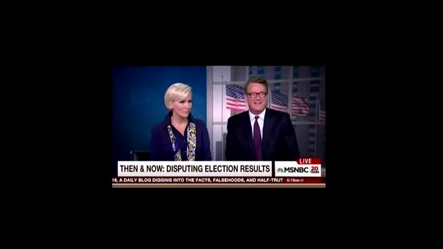 Morning Joe Calls Out Liberal Media Hypocrisy in 2016, Compares Criticism of Republicans by Democrats in 2000 and 2004 Elections