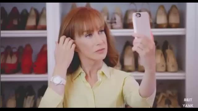Kathy Griffin Spoofs Clinton Mirrors Ad
