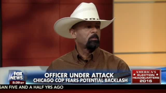 Sheriff Clarke: 'Biggest Fear' is Police Second Guessing Use of Force