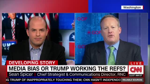 RNC Official Schools CNN's Brian Stelter on Liberal Media Bias
