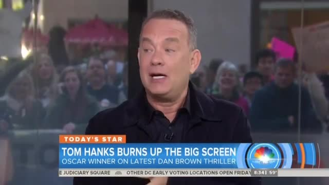 NBC's Guthrie, Tom Hanks Hype Overpopulation: 'The Math Does Add Up'