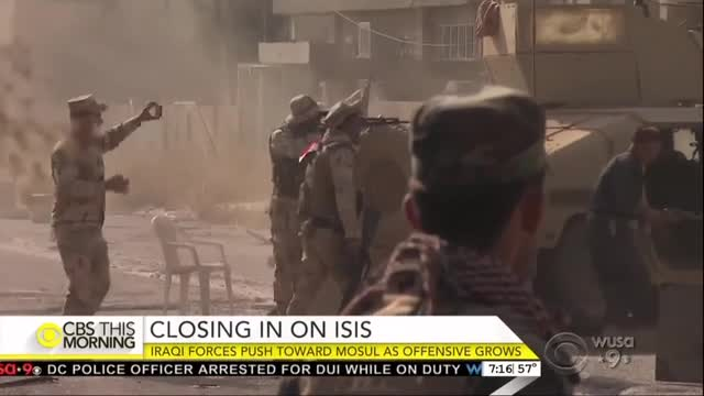 CBS This Morning on Mosul