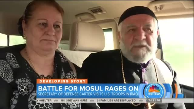 NBC Today on Mosul