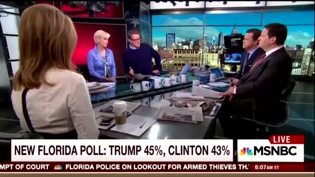"MSNBC's Morning Joe Tells the Truth: ""The Media Has Taken Sides. They've Aggressively Taken Sides and They've Admitted That We Are Aggressively Taking Sides."""