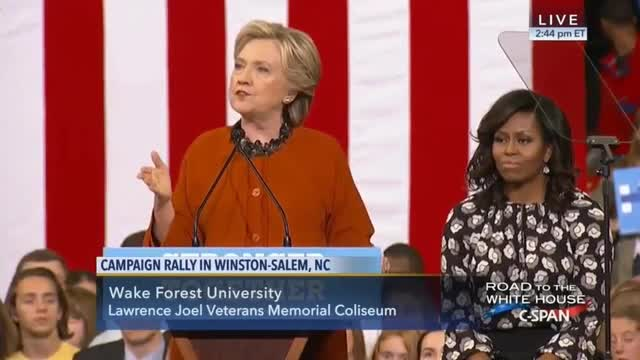 Hillary Clinton: 'It's Not Easy' to Be First Lady of the United States