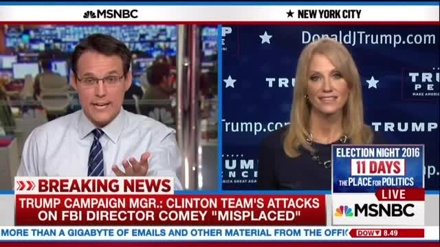 MSNBC Demands Trump Camp Retract 'Rigged' System Comments in Light of FBI News
