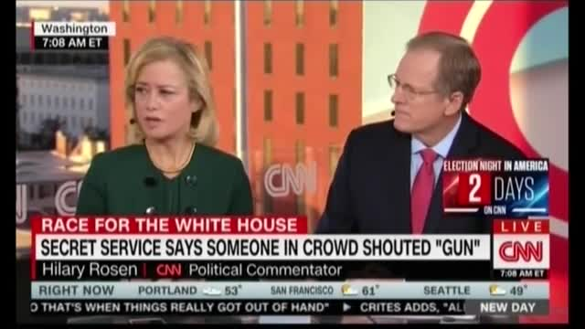 CNN's Blackwell and Rosen Deny Dems Paid for Trump Rally Violence
