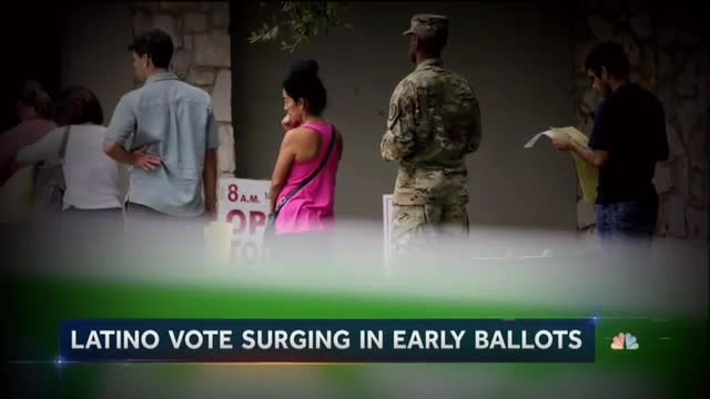 On Eve of Election, NBC Touts GOP Losing Support with Latinos