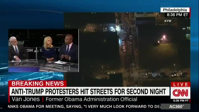 CNN's Van Jones: Trump Has America 'on Track for a Tragedy'
