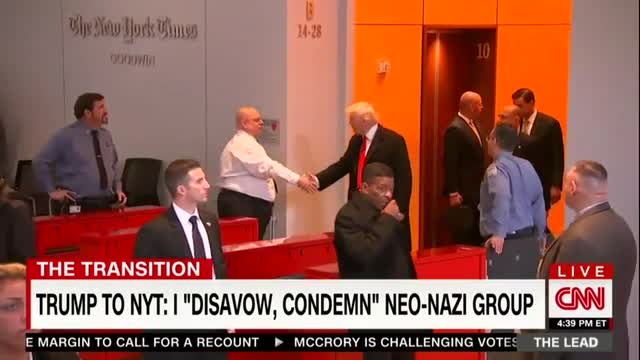CNN Loses it over 'Small' Neo-Nazi Meeting, Downplay Disavowal