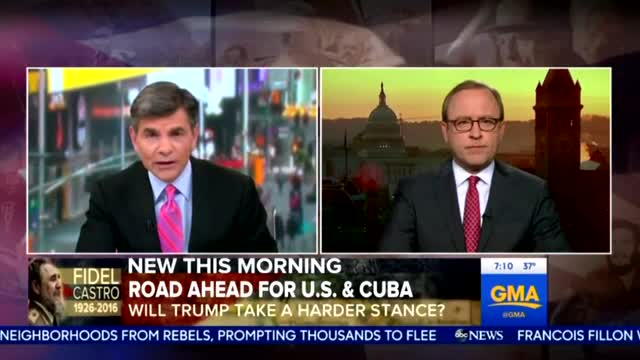 Nets Fret Trump Will 'Roll Back' Obama's Cuba 'Legacy'