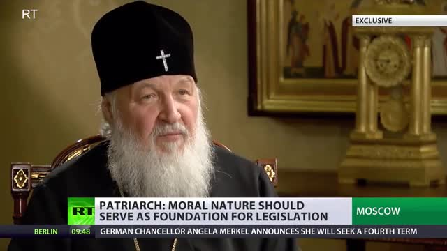 Russian Orthodox Patriarch: Gay Marriage Threatens 'The Existence of The Human Race'