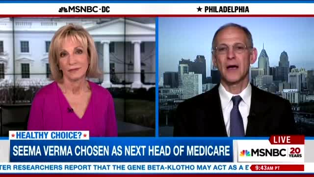 Andrea Mitchell Brings on ObamaCare Architect to Bash Trump's HHS Pick