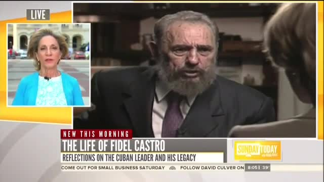 Andrea Reminisces About Dinners With Defiant Fidel