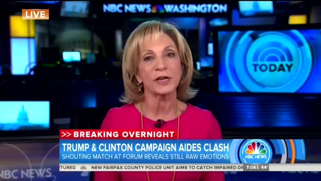 Andrea Mitchell Sympathizes With 'Protective' Clinton Aides Blaming Media for Hillary's Loss