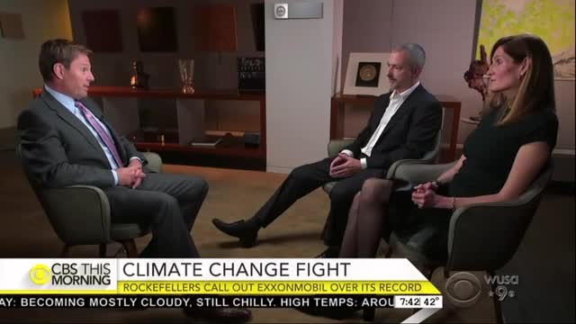 CBS Avoids Partisan IDs of Liberal and Dem Climate Change Attacks on Exxon